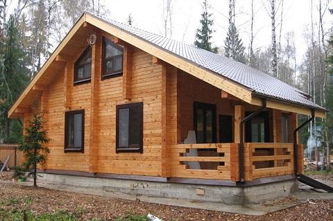 Нюансы строительства деревянных домов из бруса в зависимости от профиля