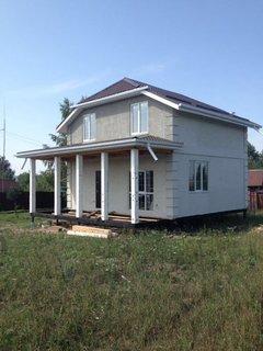 Варианты внешней отделки при строительстве монолитного частного дома