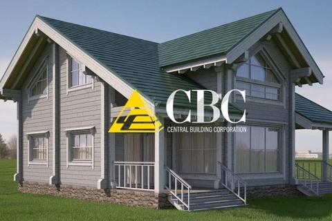 Строительство загородных домов по готовым проектам: выбираем материал