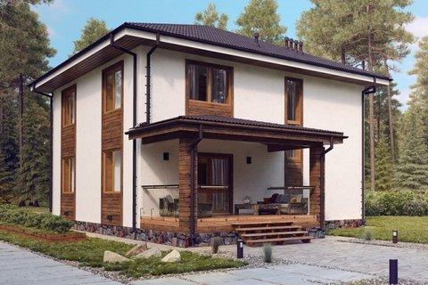 Готовые проекты домов из газобетона: преимущества и недостатки