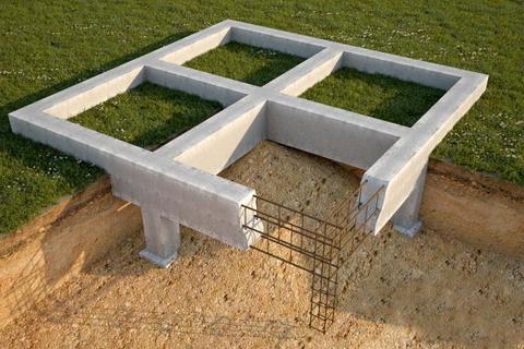 Заливка фундамента под дом: монолитная плита