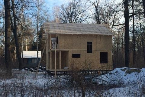 5 универсальных вариантов внешней отделки при строительстве деревянных домов из СИП-панелей