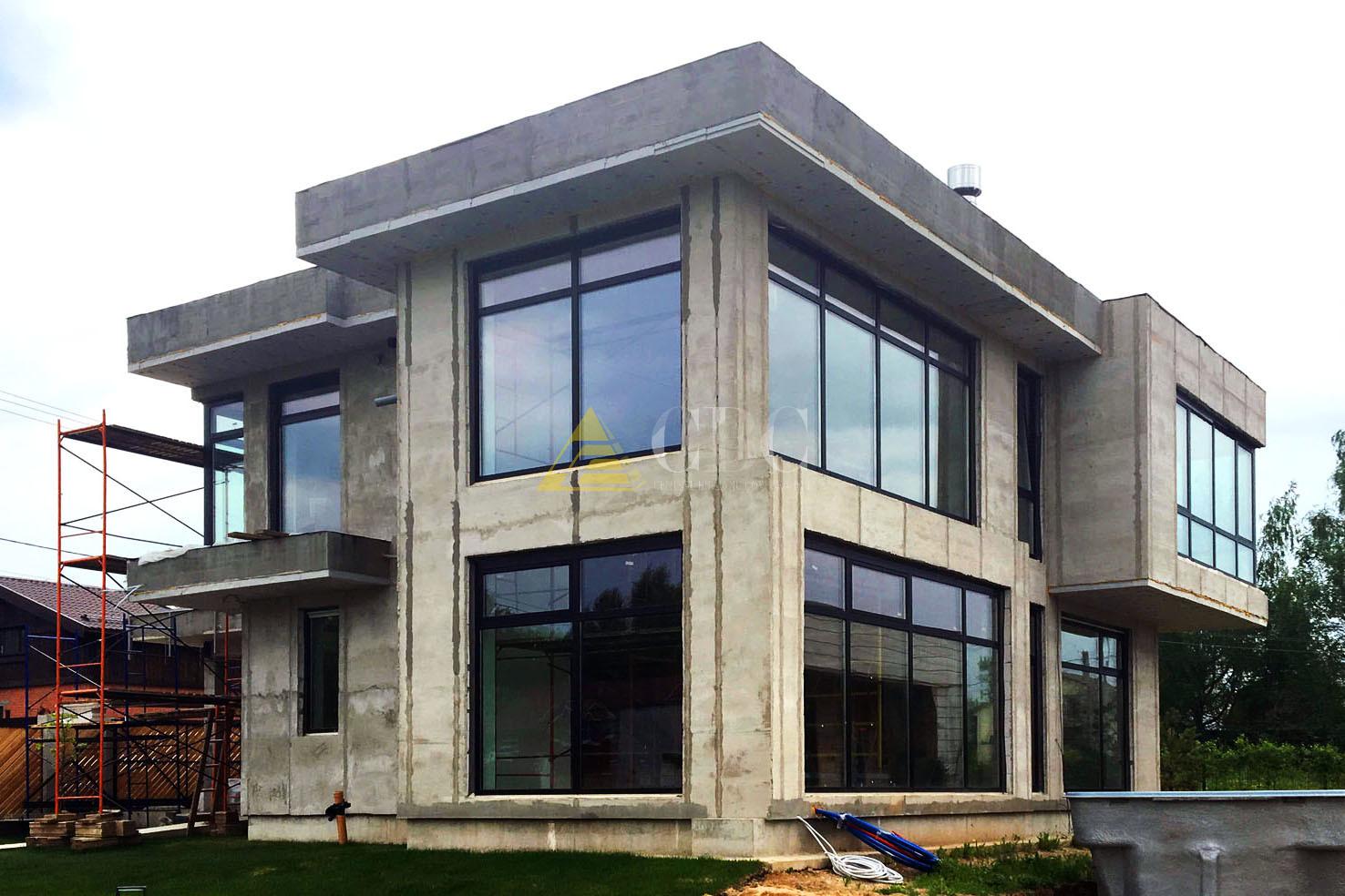 строительство домов из бетона в москве